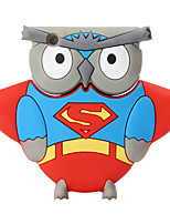 Nouveau cartoon owl usb2.0 128gb flash drive u memory memory