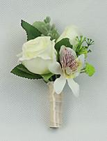 Свадебные цветы Бутоньерки Свадебное белье Для специальных случаев Около 6 см