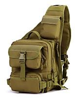 2 L Sling Bag Camping / Hiking Outdoor Moistureproof/Moisture Permeability Outdoor Nylon