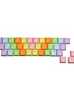 37 tasti portachiavi pbt impostati per tastiera meccanica trasparente tastiera iniezione