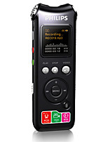 PHILIPS VTR8000 Digital Voice Recorder Noise Reduction Integrated Camera Video With FM Radio Support TF Card 8GB