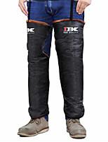 Ibk ibkhx moto genou / étui de protection chaleur de l'hiver augmentation de l'épaisseur rides profond réfléchissant réchauffeur