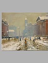 Peint à la main Paysage Format Horizontal,Artistique Un Panneau Toile Peinture à l'huile Hang-peint For Décoration d'intérieur