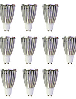 6W LED Spotlight GU10 1COB 480Lm Warm White/White Non-Dimmable AC220-240V 10Pcs