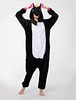 kigurumi Pyjamas Cheval volant Fête / Célébration Pyjamas Animale Halloween Mode Brodée Flanelle Costumes de Cosplay Kigurumi PourCouple