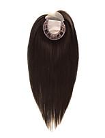 Uniwigs 5.55.5 remy человеческий волос кусок кружева передняя и шелковая основа верхняя прямая волосяная паста16 дюймов для выпадения