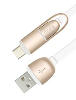 USB 2.0 Câble, USB 2.0 to USB 2.0 Type C Micro USB 2.0 Câble Male - Male 1.0m (3ft)