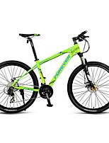 Горный велосипед Велоспорт 30 Скорость 26 дюймы/700CC MICROSHIFT 24 Двойной дисковый тормоз Передняя вилка с амортизациейРама из