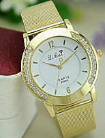 Women's Fashion Watch Quartz Rhinestone Alloy Band Casual Gold