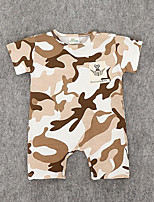 Baby Camouflage One-Pieces,Cotton Summer Short Sleeve