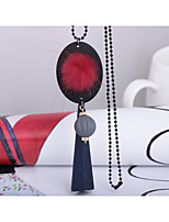 Women's Pendant Necklaces Plush Fabric Fashion Jewelry For Wedding Party Birthday Graduation Gift Daily