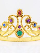 Хэллоуин Рождество рождения королева корона монтируется драгоценный камень драгоценность головной убор косплей карнавал маскарад партия костюм prop