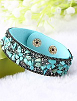 Women's Bracelet Handmade Classic Leather Circle Jewelry For Wedding Daily Casual Going out