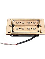 Cigar Box Guitar 4 String Humbucker Pickups Maple Wood