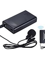 Amplificador de voz com microfone sem fio para microfone sem fio com lapal lapela portátil para promoção de discurso de conferência de