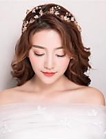דמוי פנינה אבן נוצצת כיסוי ראש-חתונה אירוע מיוחד יום הולדת מסיבה\אירוע ערב קזו'אל סרטי ראש חלק 1