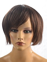 Capless Hot Sales Short Straight BOB Wig Synthetic Fiber Wig Hairstyle