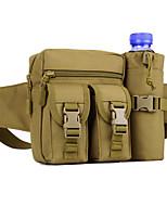 3 L Hüfttaschen Camping & Wandern Draußen Feuchtigkeitsundurchlässig Outdoor Nylon