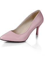 Femme Sandales Confort Polyuréthane Eté Blanc Noir Rouge Rose Écran couleur 12 cm & plus