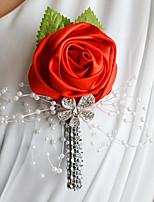 Свадебные цветы Бутоньерки Свадебное белье Около 5 см