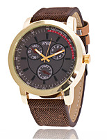 XU Men's Luxurious Elegant Quartz The Cowboy Canvas Outdoor Leisure Sport Watch