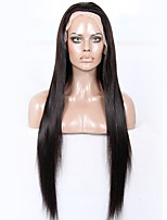 Premier® Brazilian Unprocessed Human Virgin Hair Yaki Straight Glueless Full Lace Hair Wigs For Women