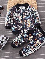 Boys' Solid Sets,Cotton Spring Clothing Set