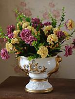 1 Филиал Пластик Гортензии Pастений Букеты на стол Искусственные Цветы