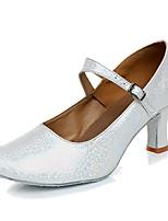 Women's Modern Customized Materials Sneaker Indoor Customized Heel Gold Silver Gray Blushing Pink Customizable