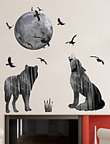 Animales De moda Famoso Pegatinas de pared Calcomanías de Aviones para Pared Calcomanías Decorativas de Pared Material Decoración hogareña