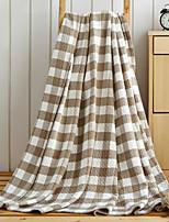 Фланель Клетки Хлопчатобумажная ткань одеяла