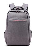 Unisex Backpack Polyester All Seasons Casual Formal Office & Career Baguette Zipper Gray Black 20-30