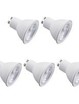 7W Spot LED 8 SMD 2835 600 lm Blanc Chaud Blanc Froid 220 V 5 pièces GU10