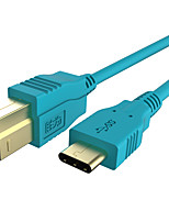 USB 3.1 Type C Кабель, USB 3.1 Type C to USB 3.0 Тип B Кабель Male - Male 1.0m (3FT)