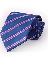Men's Polyester Neck Tie,Casual Striped All Seasons