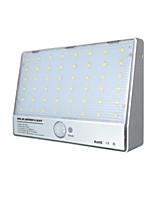 Solar Lights Integrated Wall Lamp 48 Led Aluminum Body Sensor Lights