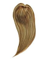 Uniwigs® Remy Human Hair Mono Hair Topper Closure Hair Topper Straight for Hair Loss (Y-22)