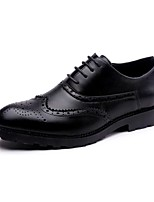 Men's Oxfords Classic Style Shoes Comfort Patent Leather Wedding Casual Party & Evening Black