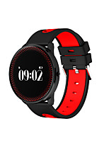 0.96 Inches Smart Bracelet IP67 Waterproof Long Standby Blood Pressure Oxygen Heart Rate Monitoring  Motion Step Intelligent Bracelet for Android &iOS