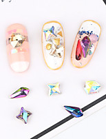 18 Manucure Dé oration strass Perles Maquillage cosmétique Nail Art Design