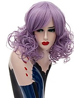 Halloween BOBO Curly Wave Hair Wig Natural Daily Wearing Wig for Women Heat Resistant Fiber Cospay Wig