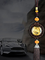 DIY Automotive Pendants  Upscale Sided Unicorn  Car Pendant & Ornaments Crystal Jade