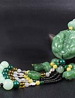 DIY Automotive Pendants Blessed Fortune Health Wealth Car Straps Auspicious Decoration Car Pendant & Ornaments Jade
