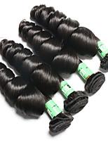 Человека ткет Волосы Малазийские волосы Свободные волны 18 месяцев 4 предмета волосы ткет кг Пряди с быстрым креплением