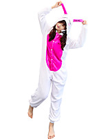 Kigurumi Pajamas Rabbit/Bunny Leotard/Onesie Festival/Holiday Animal Sleepwear Halloween Animal Kigurumi For Couples Unisex Halloween