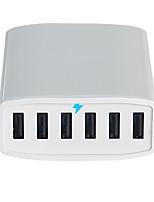Chargeur USB 6 Ports Station de chargeur de bureau Universel Adaptateur de charge