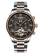 Муж. Спортивные часы Армейские часы Нарядные часы Часы со скелетом Модные часы Наручные часы Часы-браслет Механические часы Уникальный