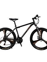 Bicicleta de Montaña Ciclismo 21 Velocidad 26 pulgadas/700CC SHIMANO TZ-30 Doble Disco de Freno Horquilla de suspención Ordinario