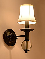 AC220 E14 Vintage Electroplated Feature Uplight Wall Sconces Wall Light