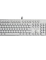 Tastiera a pulsante punk a forma di a vapore 104 pulsanti per tastiera meccanica